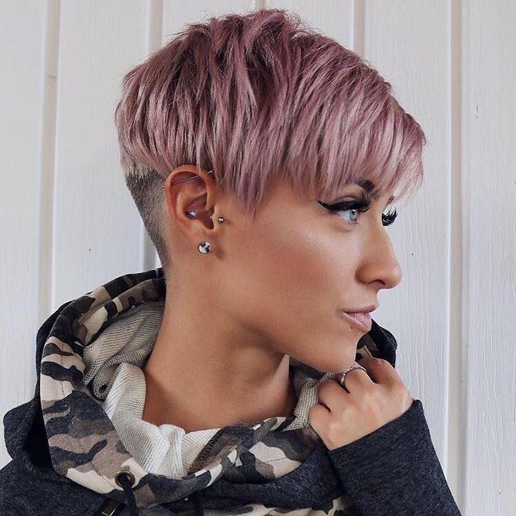 pixie cut rosa