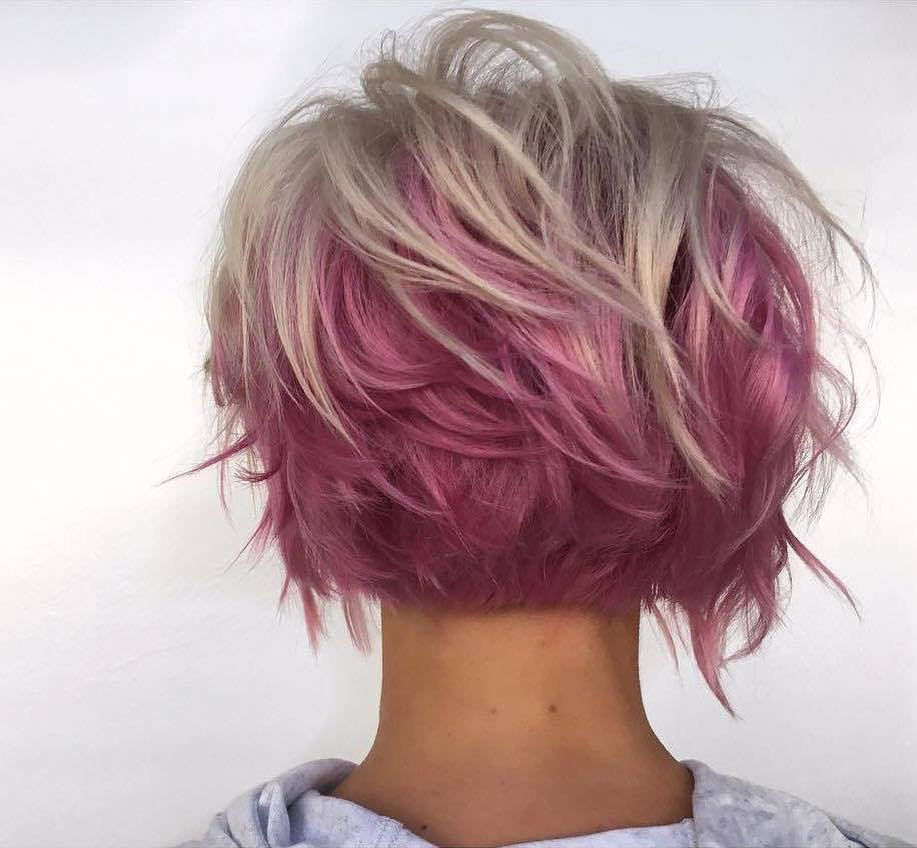caschetto rosa