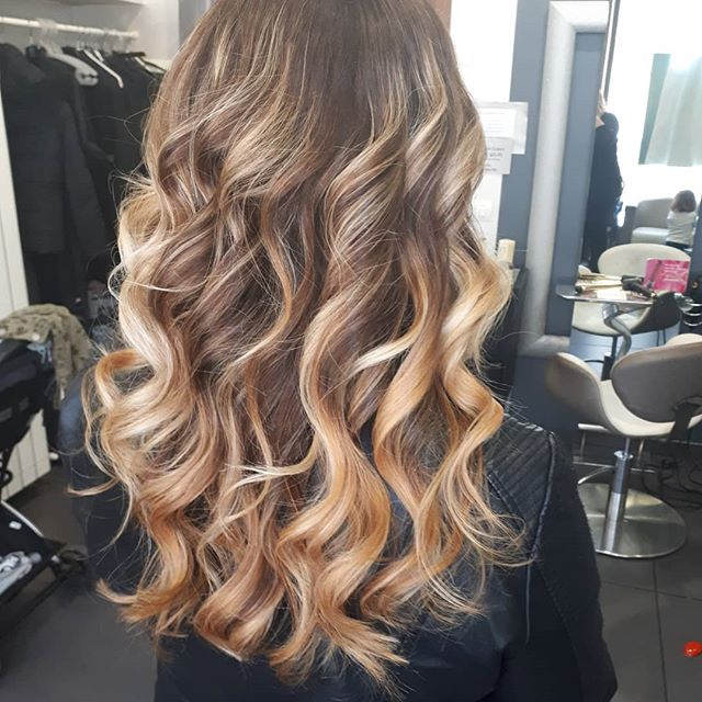 capelli biondi riflessi