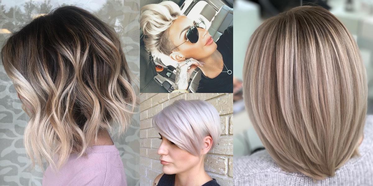 Tagli medi per capelli fini e pochi