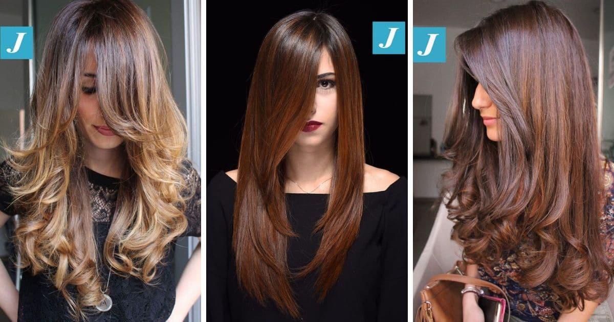 Favorito 25 tagli di capelli lunghi e scalati per un effetto morbido e naturale WF43