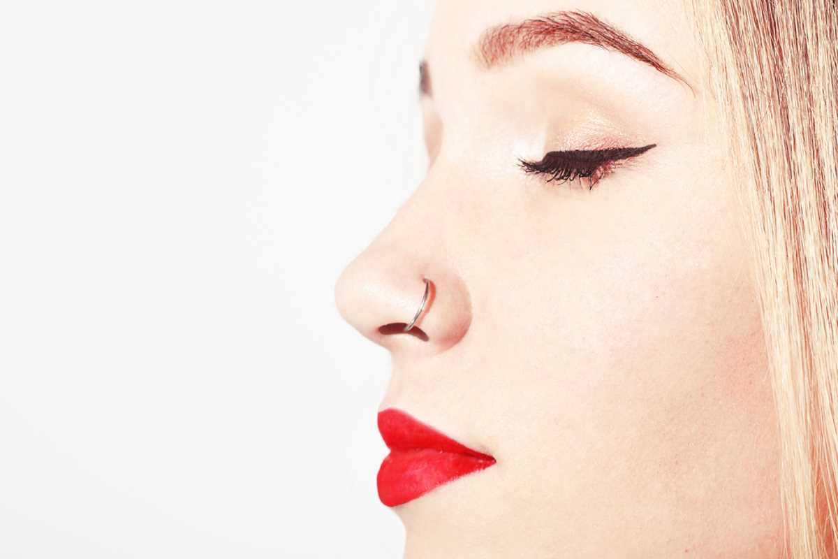 Piercing al naso