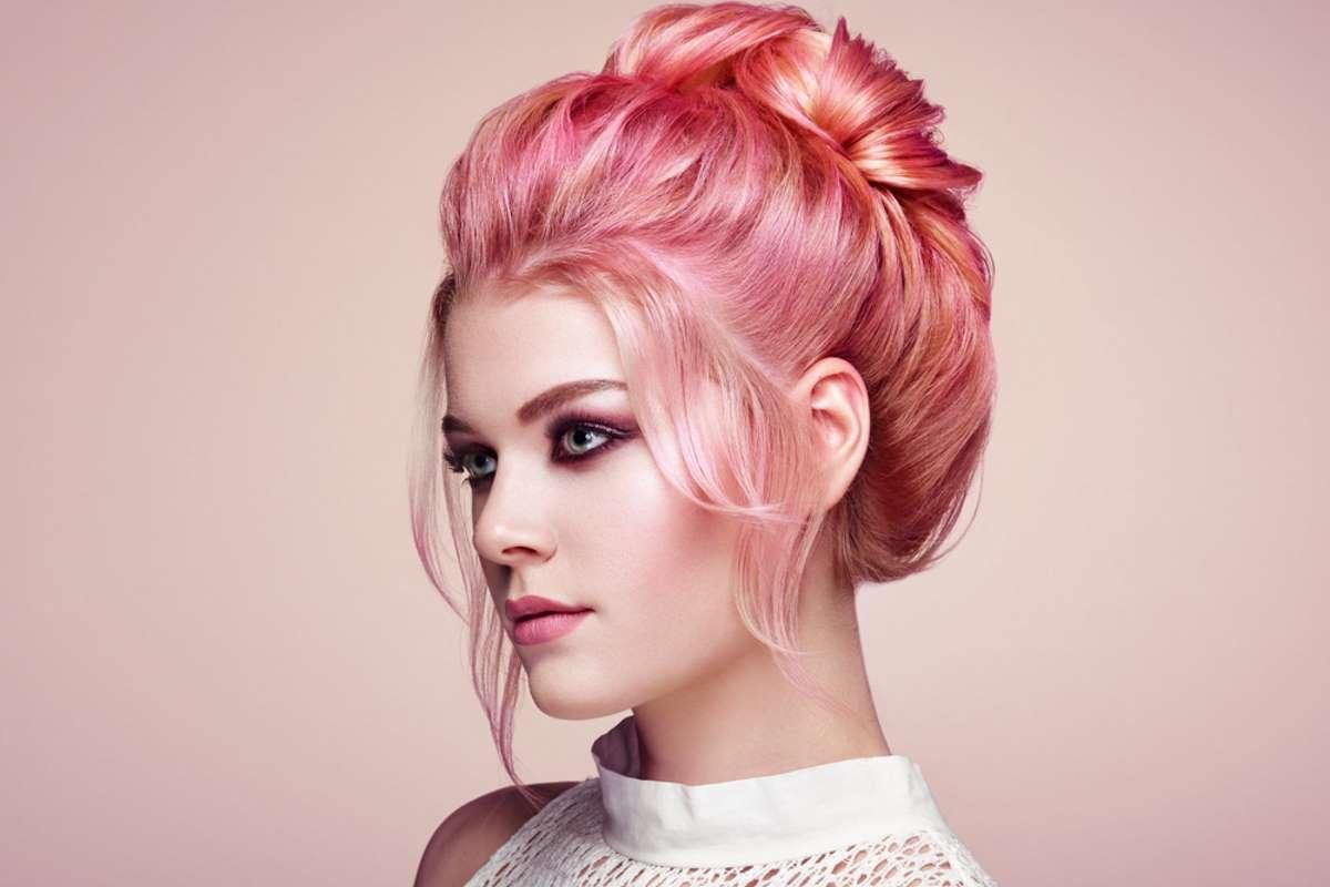 capelli fosforescenti