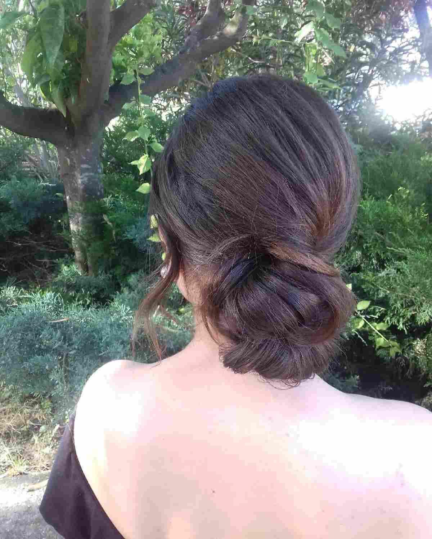 Acconciatura capelli lunghi raccolto