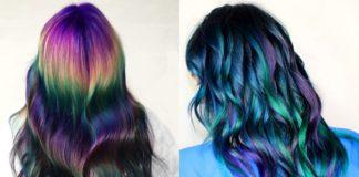 oil slick cover, colore per capelli