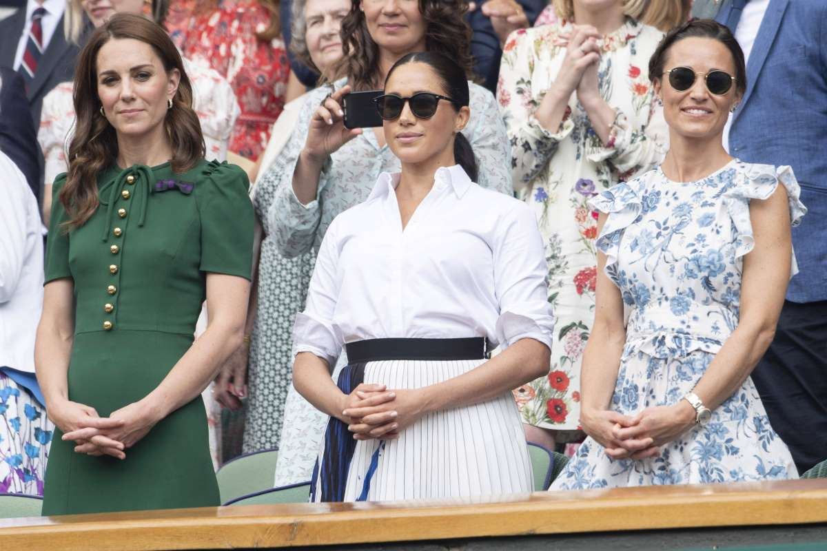 Royal family a Wimbledon