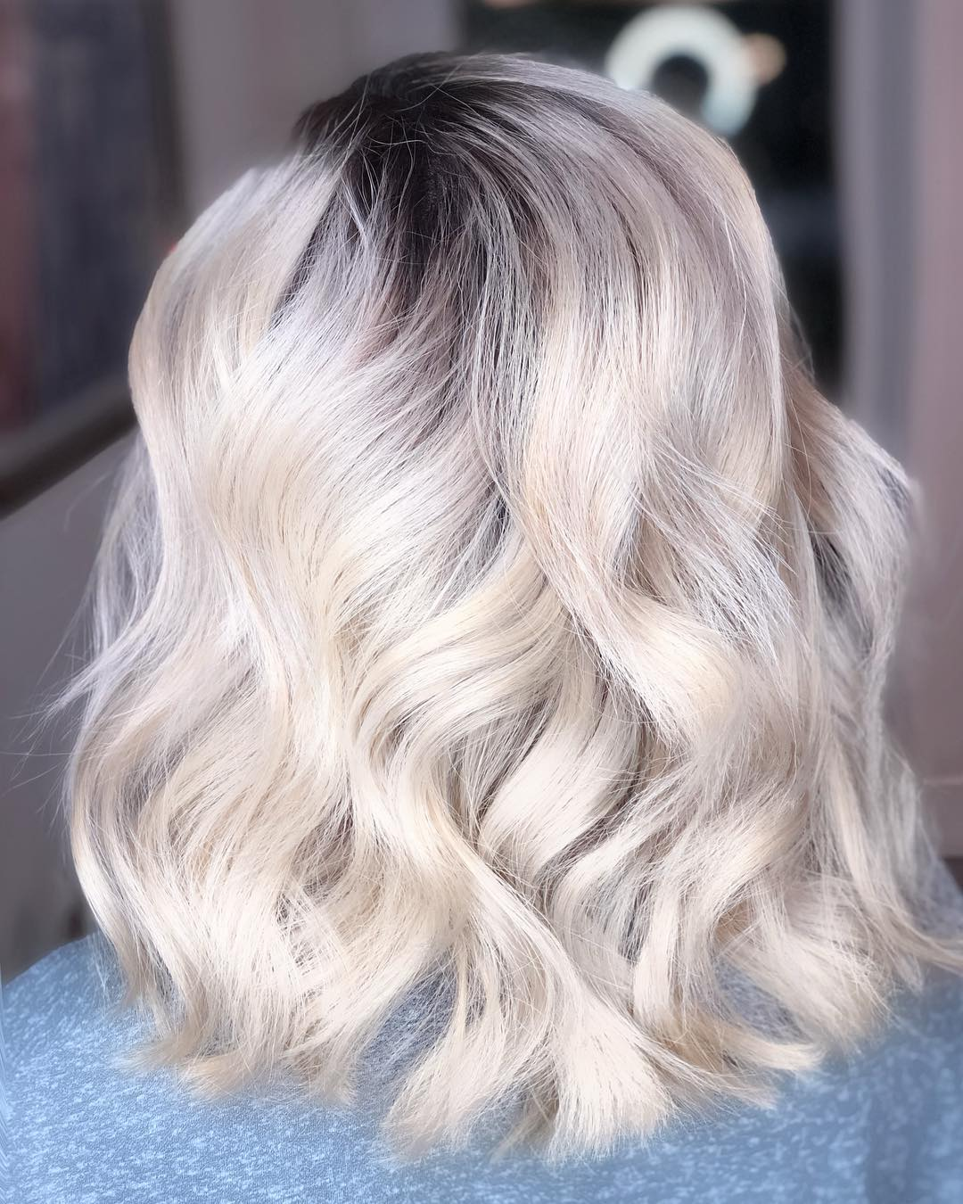 capelli biondi bianchi