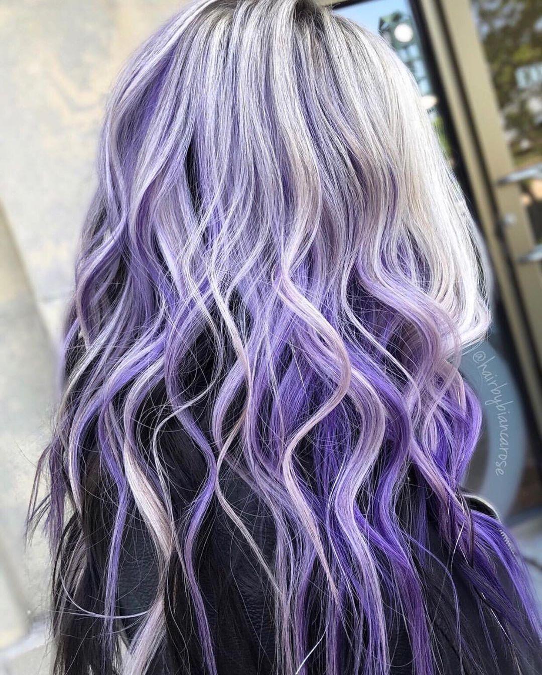 color lavanda hair