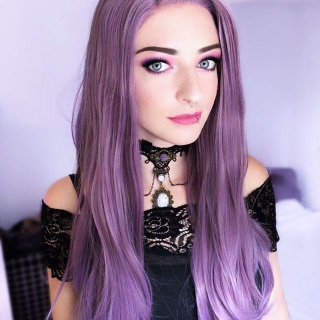 viola lisci lunghi
