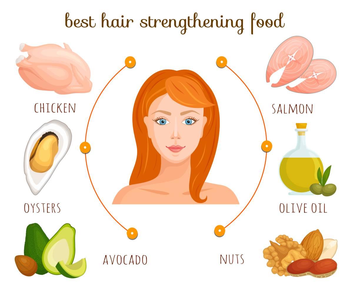 alimenti crescita capelli