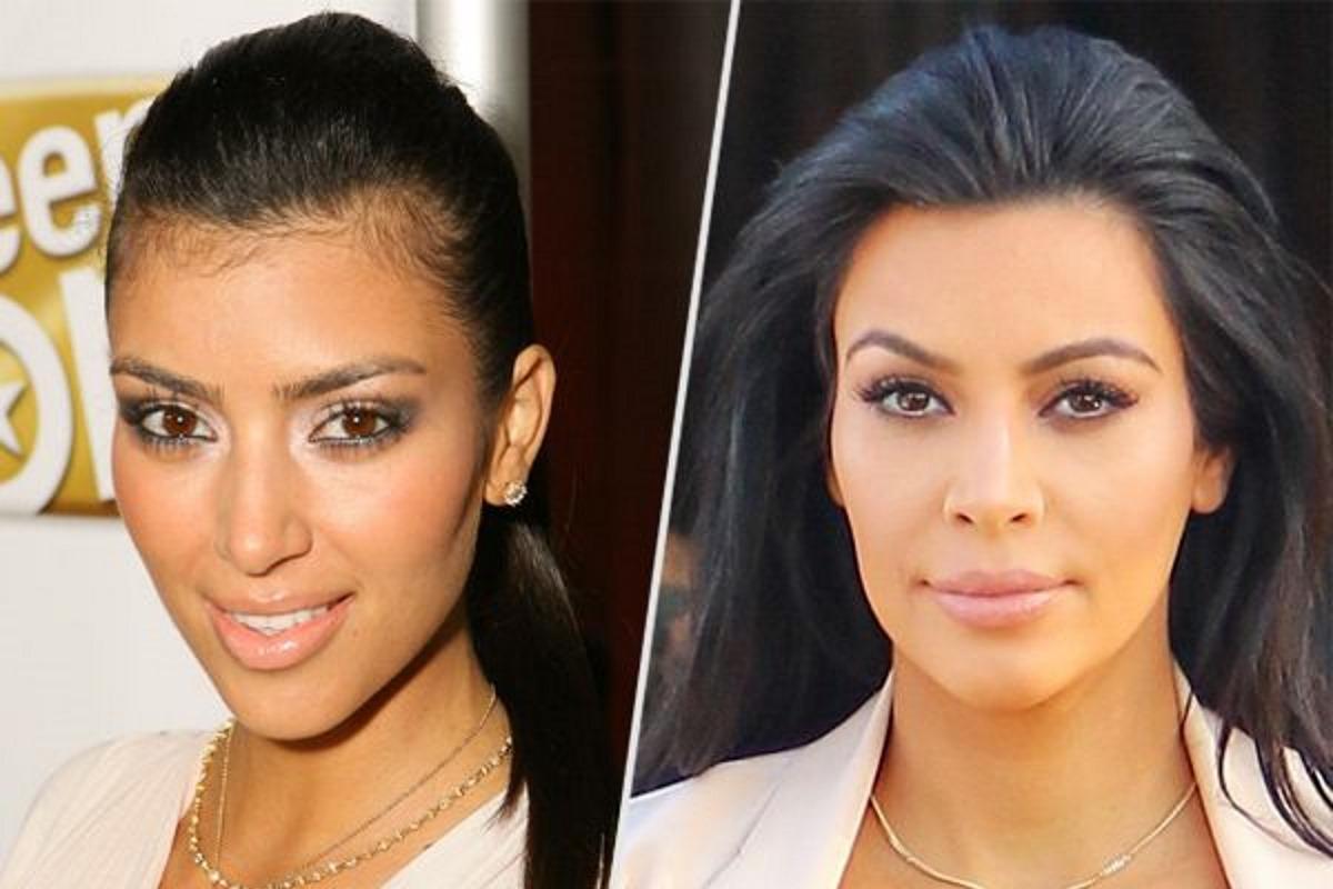 kim kardashian baby hair