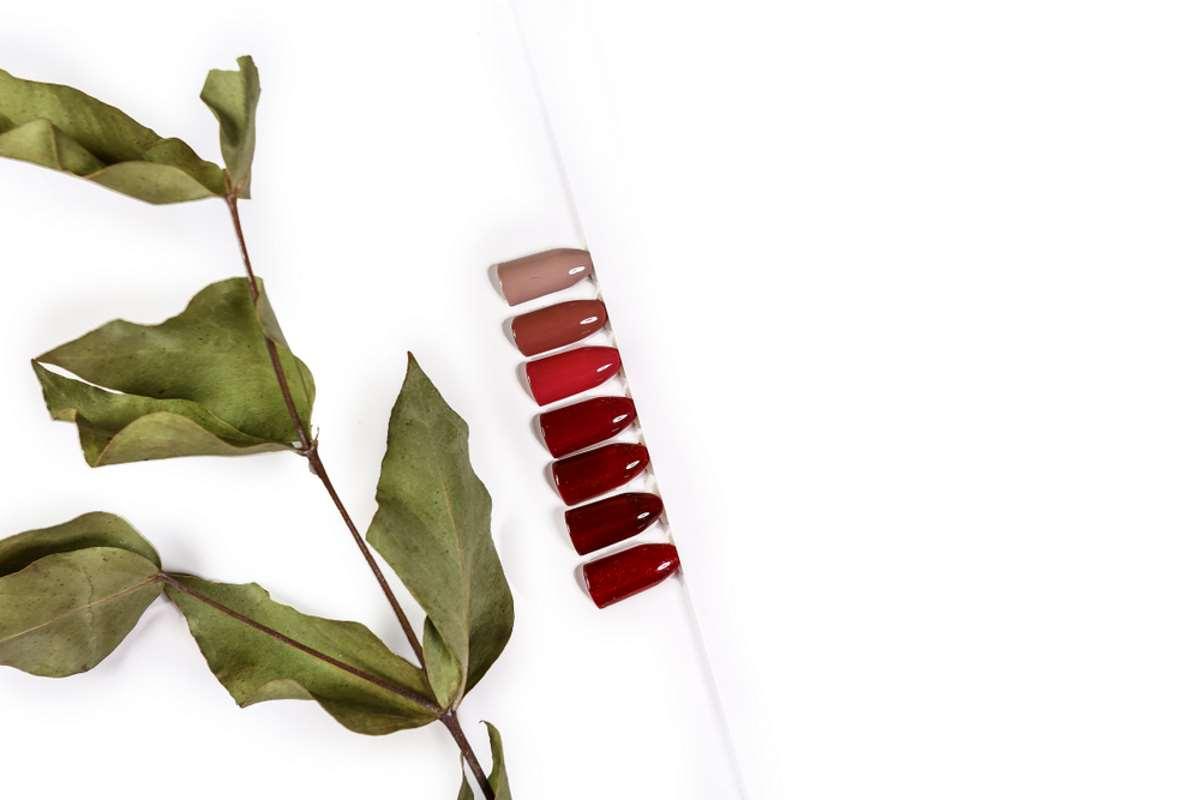 Palette di toni rossi