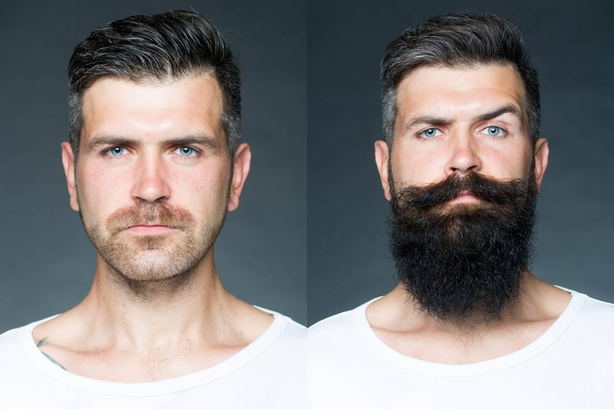 uomini con la barba