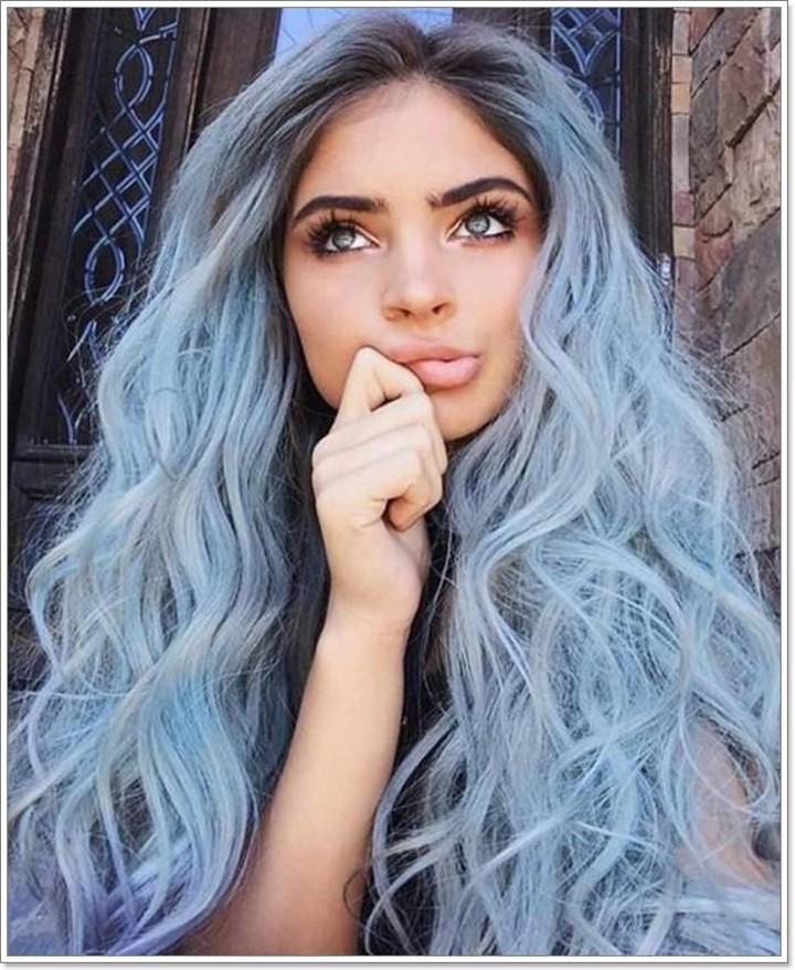 azzurri mossi lunghi