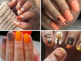 nail art autunno
