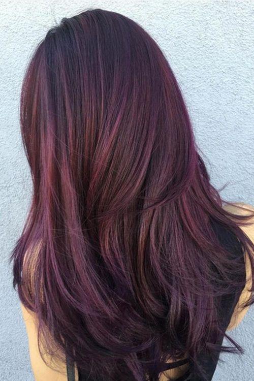viola lunghi lisci