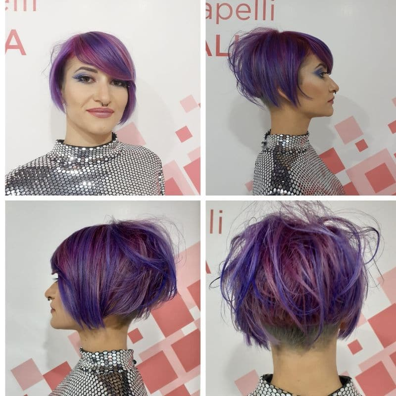 on hair viola pixie