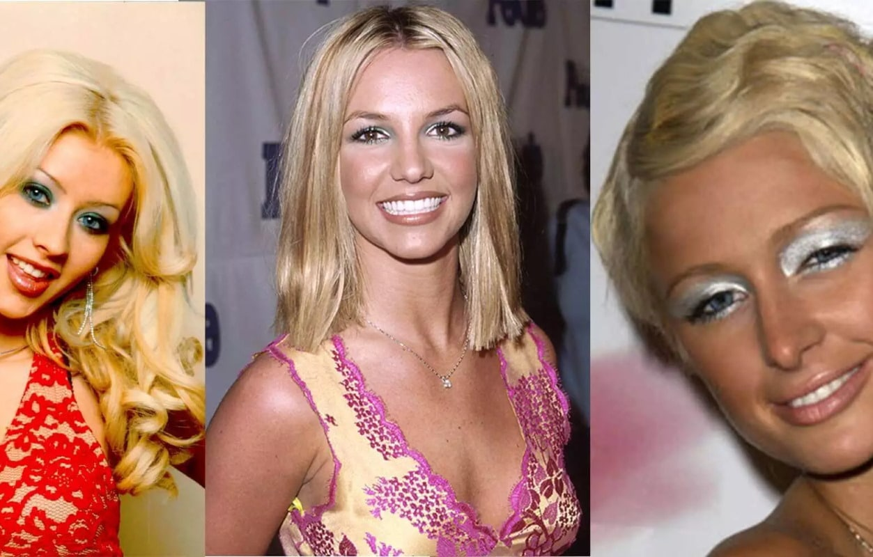 make up anni 2000