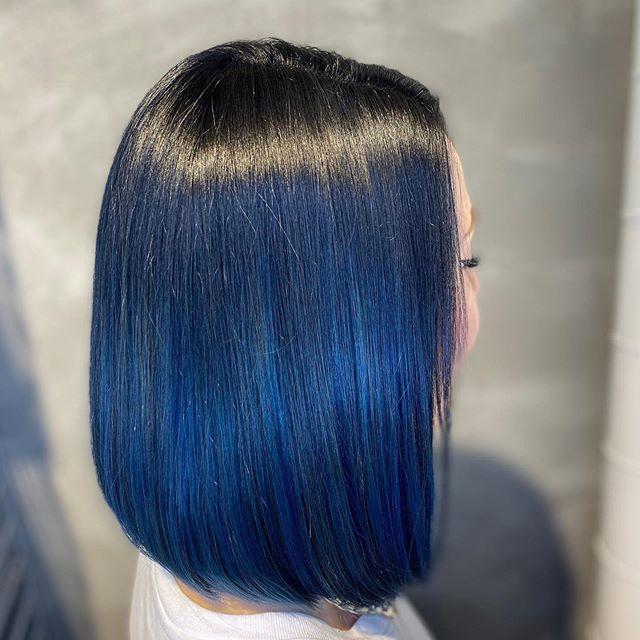 classic blue bob lisci