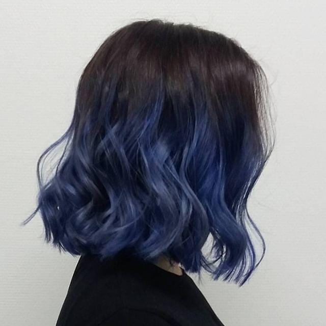 classic blue mossi bob
