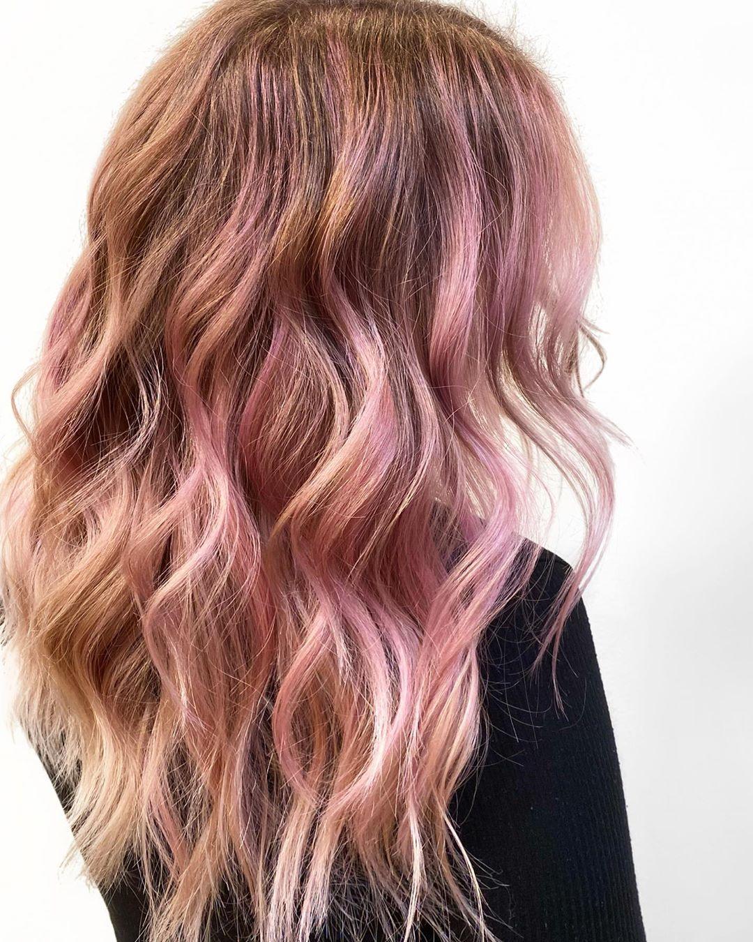 mossi rosa lunghi