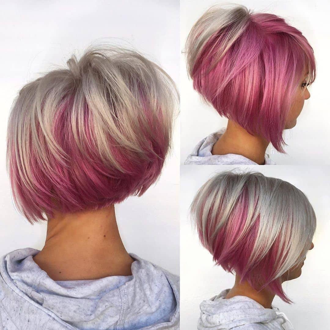 rosa medi scalati lisci