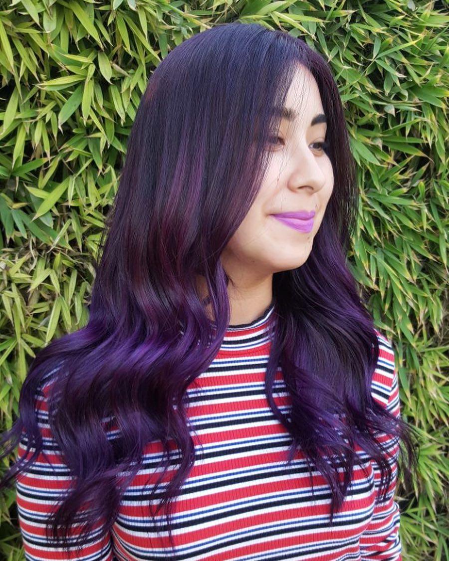 viola lunghi mossi