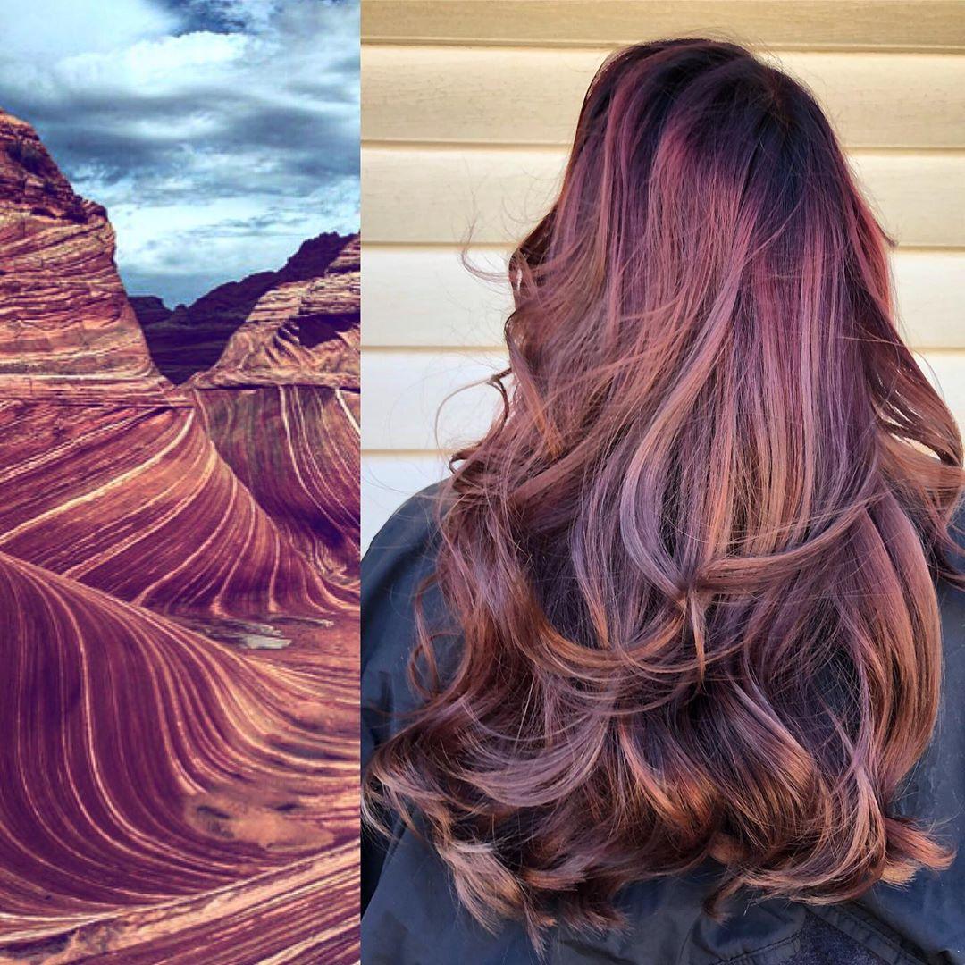 arte capelli castani