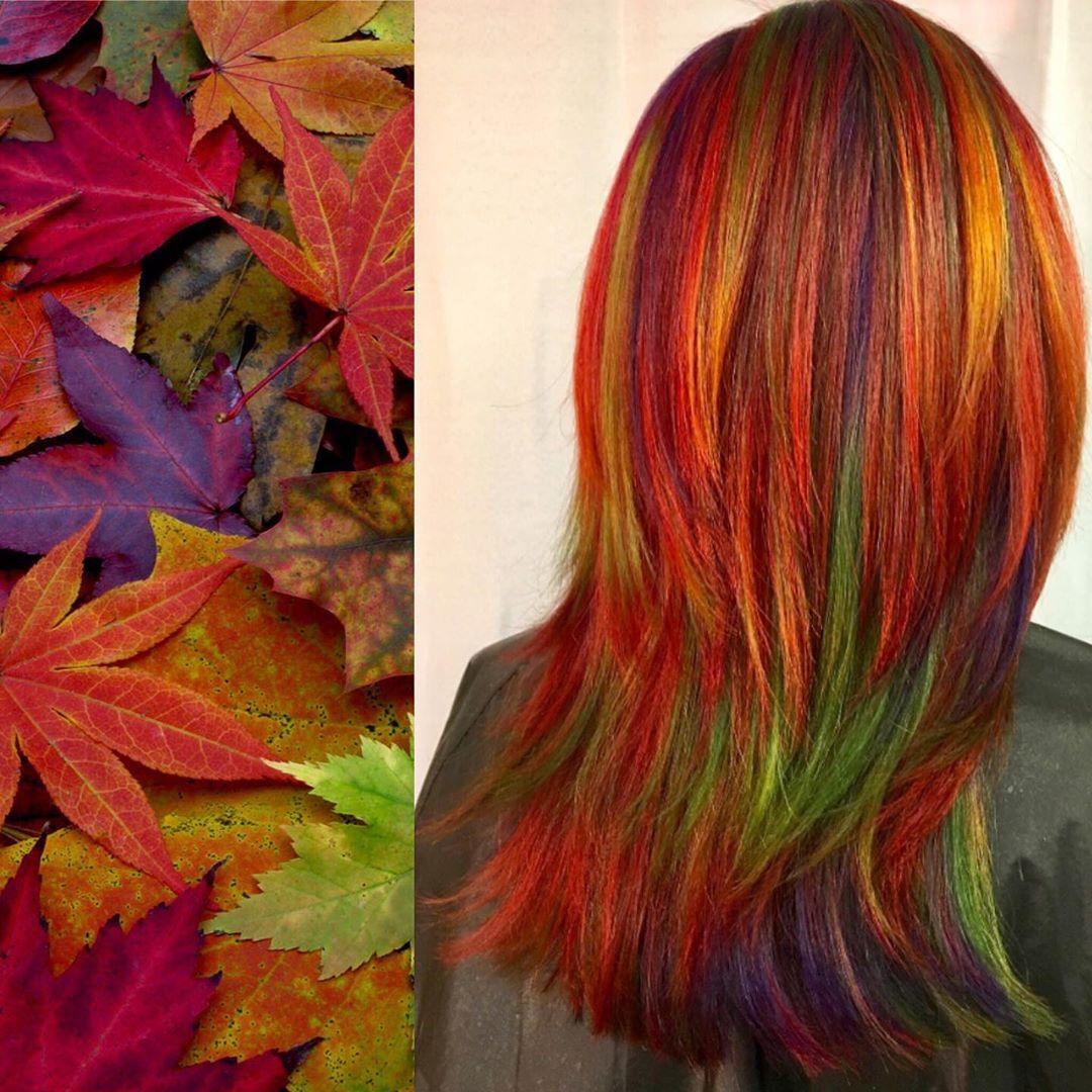 arte capelli rosso