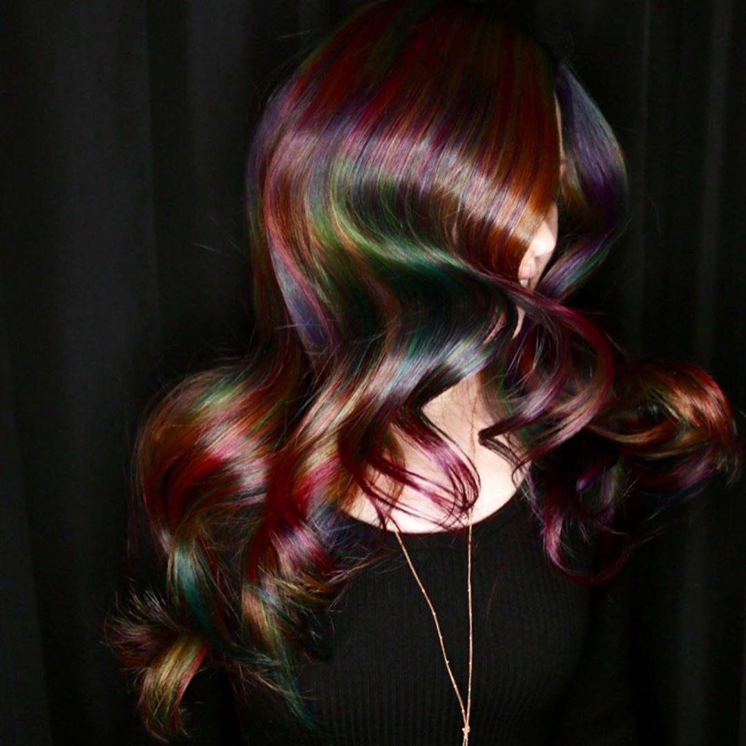 arte capelli arcobaleno
