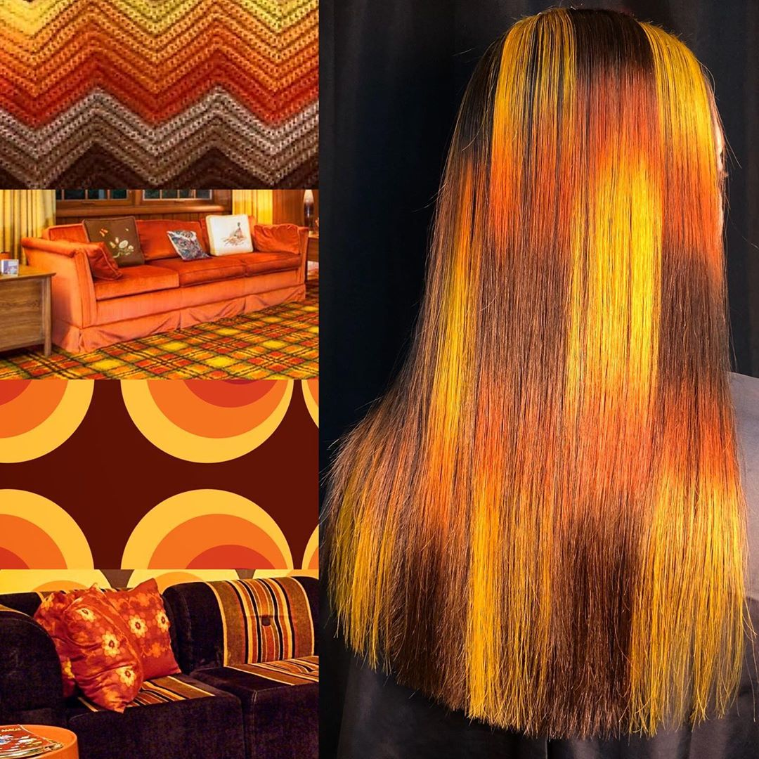 carte capelli arancio