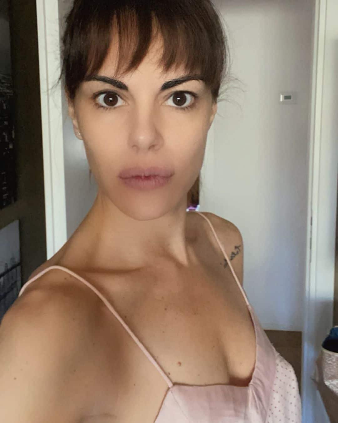 Bianca Guaccero frangia