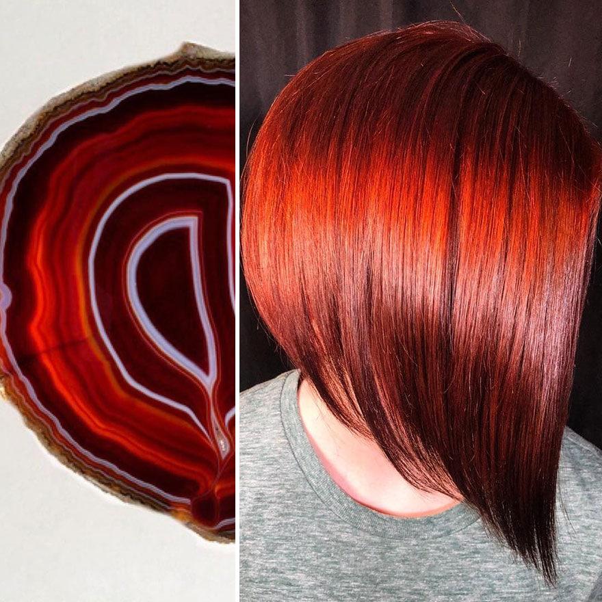 arte capelli rossi