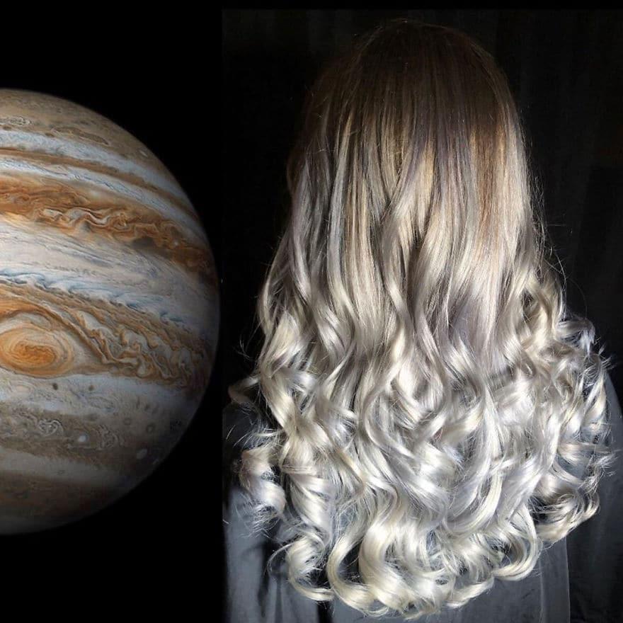 arte capelli bianchi