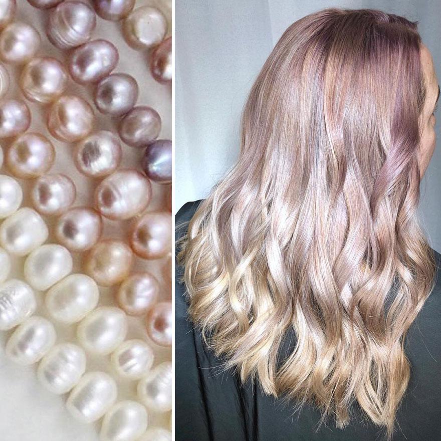 arte capelli rosa
