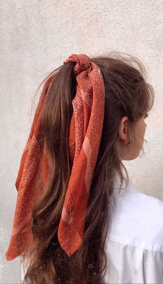 lunghi castani coda