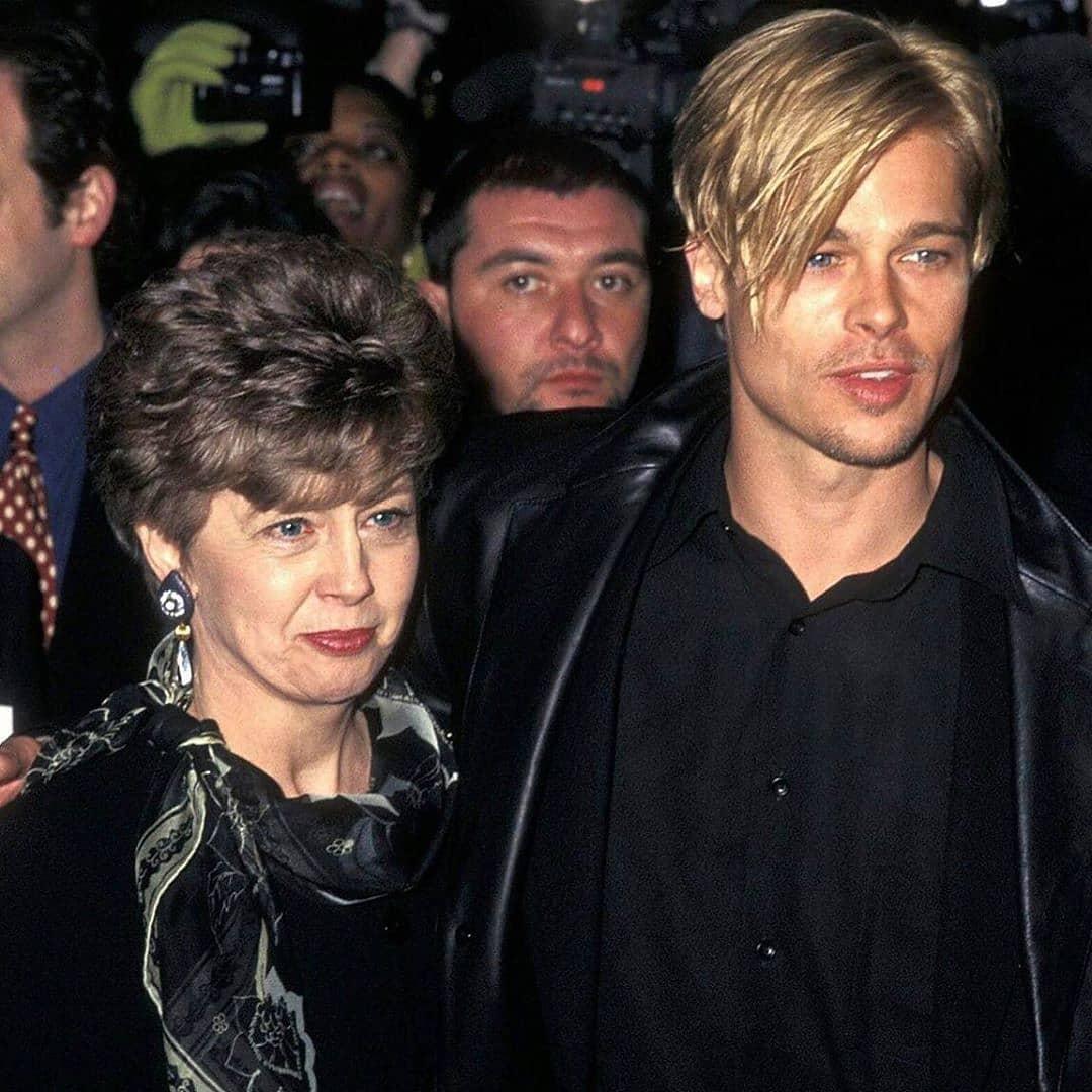 Brad Pitt madre