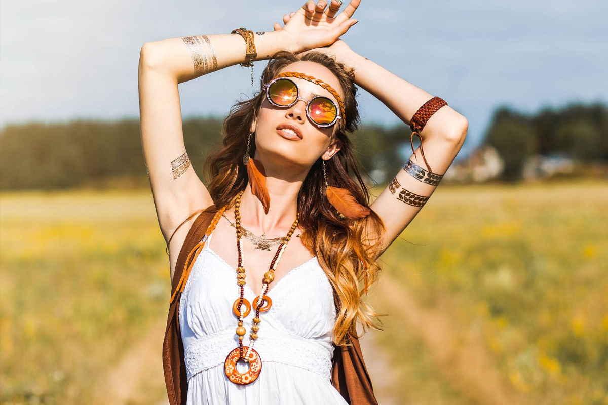 capelli hippie