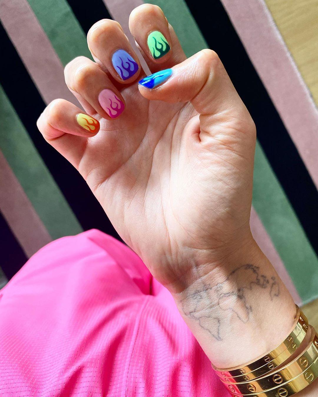 Chiara Ferragni unghie