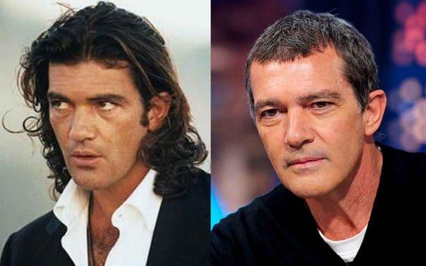 Antonio Banderas prima e dopo