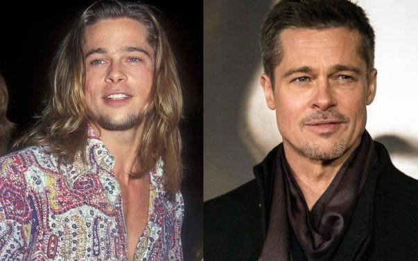 Brad Pitt prima e dopo