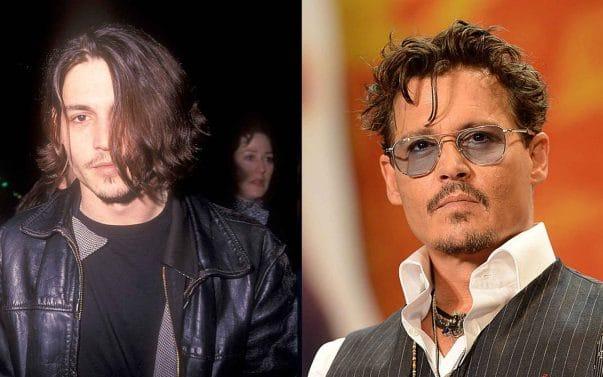 Johnny Depp prima e dopo