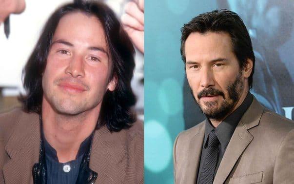 Keanu Reeves prima e dopo