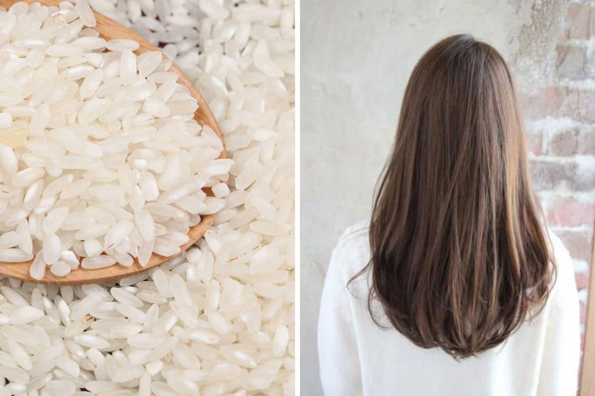 acqua di riso capelli