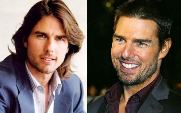 Tom Cruise prima e dopo