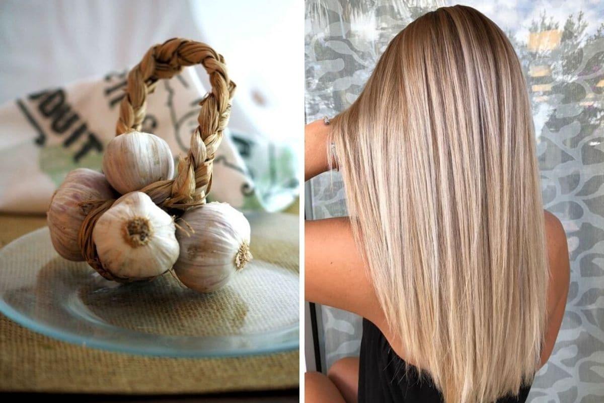 aglio sui capelli