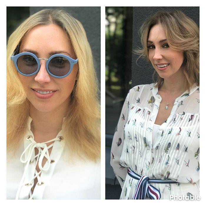 capelli prima e dopo
