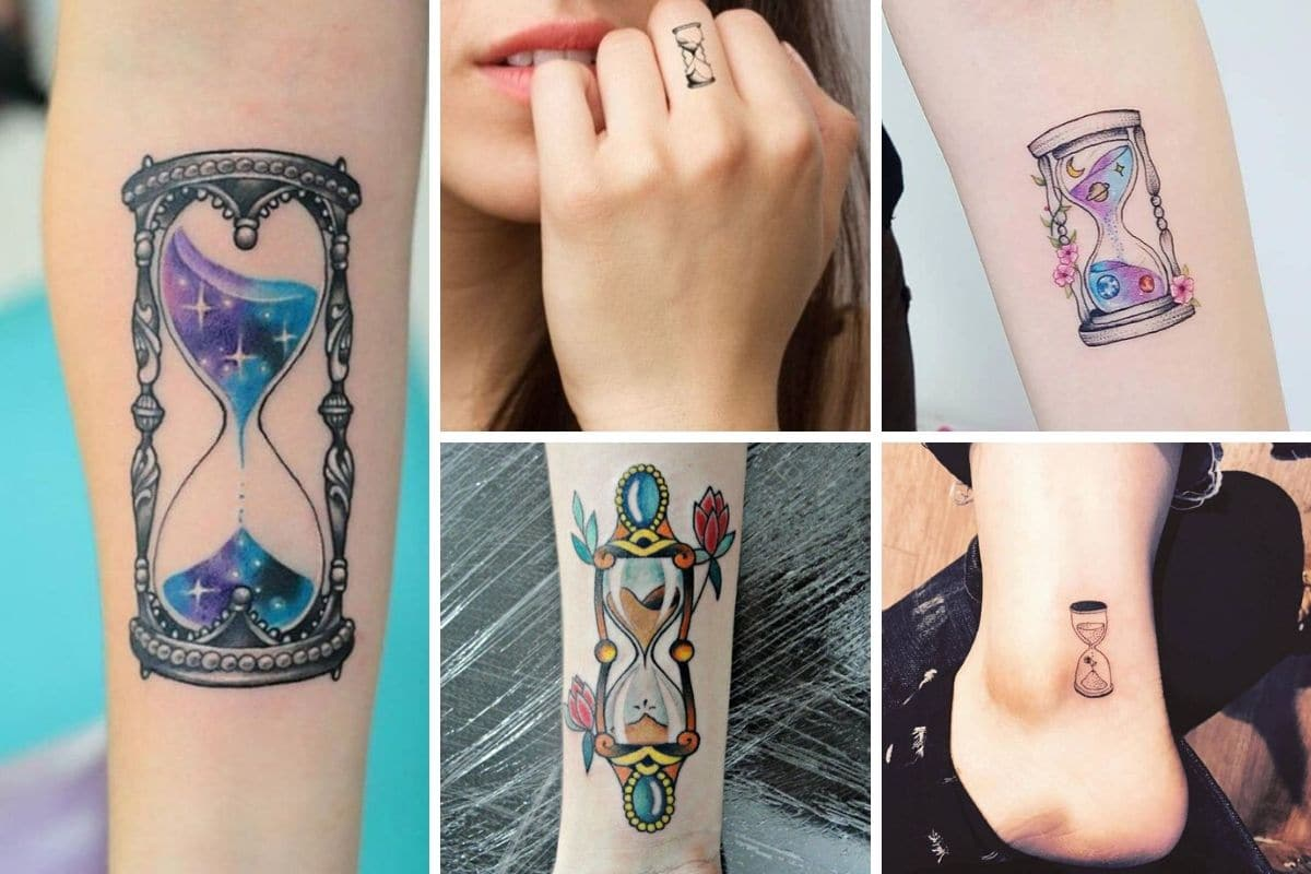 clessidra tatuaggio cover