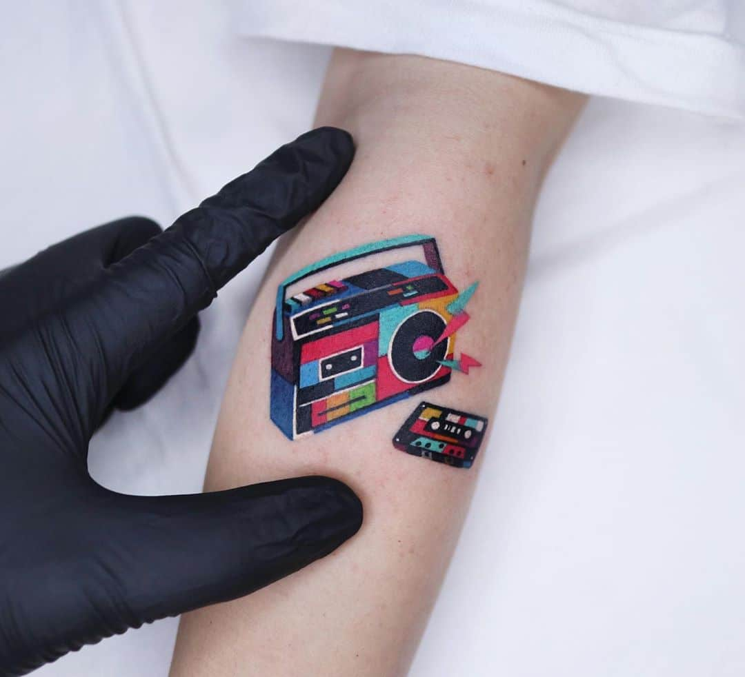 tatuaggi musica