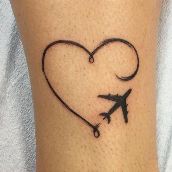 tatuaggio aereo